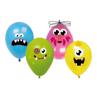 Monstrų balionai su lazd....