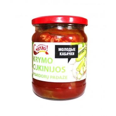 Krymo cukinijos pomidorų...
