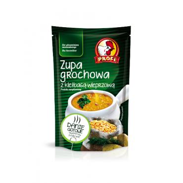 Žirnių sriuba su dešra...