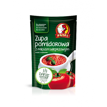 Pomidorų sriuba su mėsa...