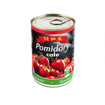 Pomidorai nepjaustyti MK 400g