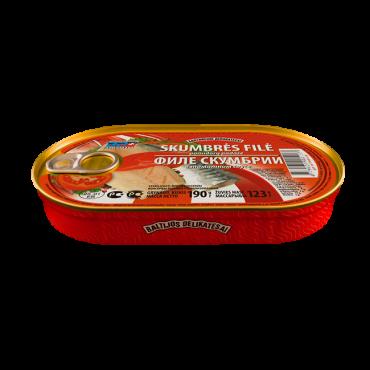 Skumbrės filė pomidorų...