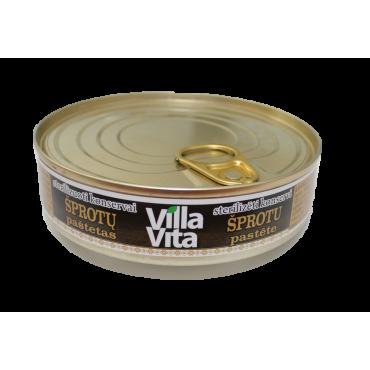 """Šprotų paštetas """"Villa..."""