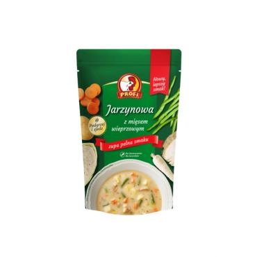 Daržovių sriuba su mėsa...