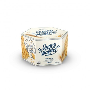 "Vafliai ""Sunny Waffles"" 65g."