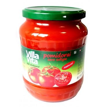 Pomidorai savo sultyse 0,720 L