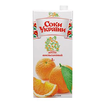 (Ukraina)Apelsinų nektaras 1L