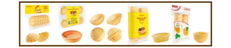 Baskets for snacks
