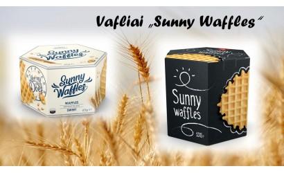 Naujiena Vafliai Sunny waffles